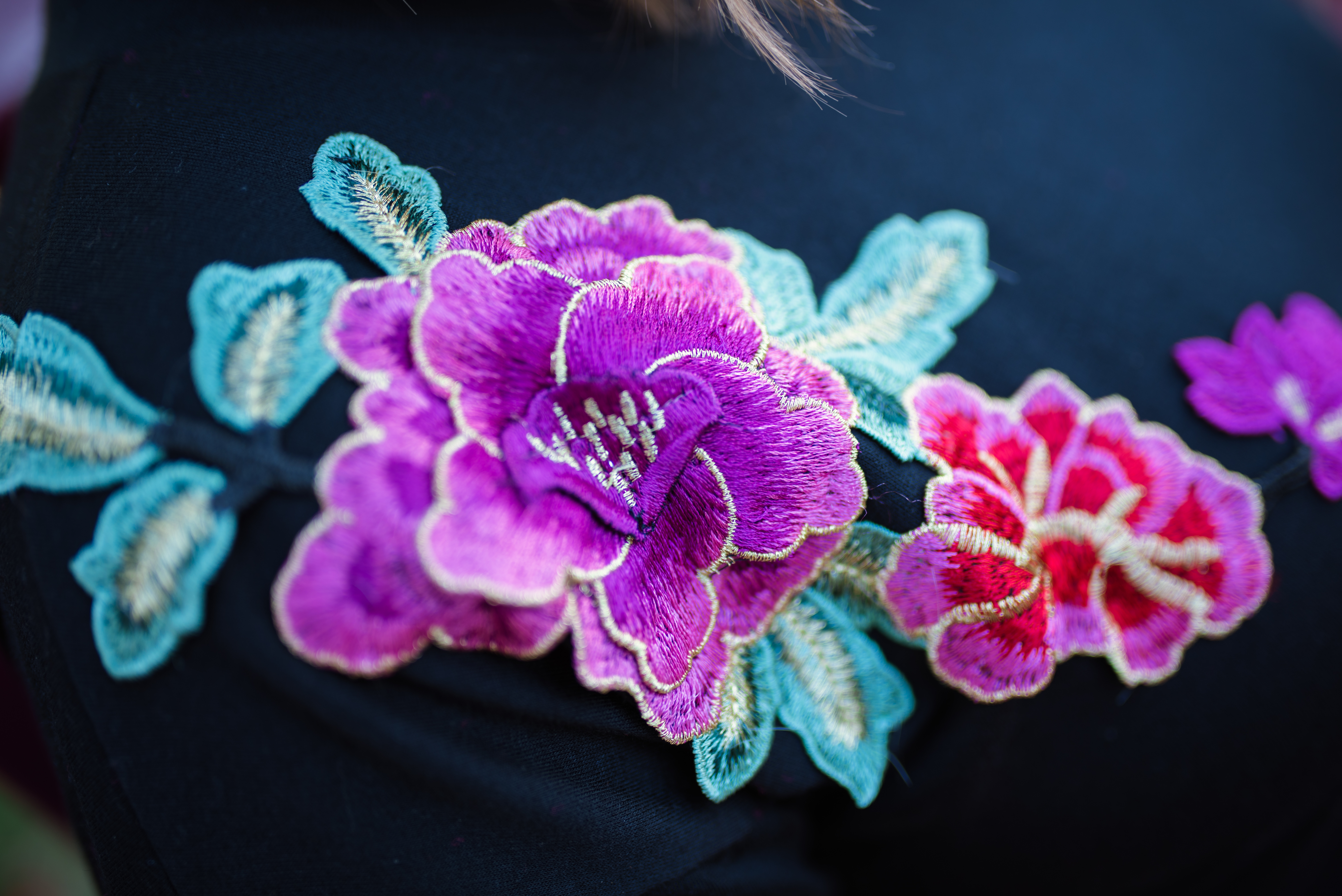 Two Way Tuesday: Flower Appliqué